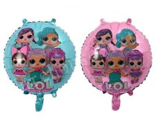 2 x LOL Surprise Doll 18 inch foil balloons. Birthday Party Decoration Au Stock