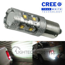 VW AMAROK 50W PURE WHITE CREE LED P21W 1156 BA15S CANBUS REVERSE LIGHT BULB