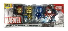 MARVEL BOBBLE HEADS - IRONMAN HALL OF ARMOUR FIGURE with GOLDEN AVENGER