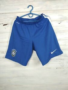 Brazil Brasil Shorts Size SMALL Football Soccer Mens Blue Nike
