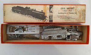 G.W.R 33XX Bulldog Class 4-4-0 Loco & Tender Rusted See Photos