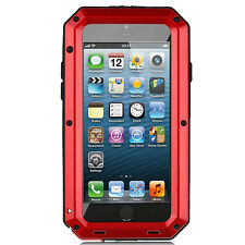 Waterproof Shockproof Metal Case Cover+Gorilla Glass for iPhone 7 Samsung S8