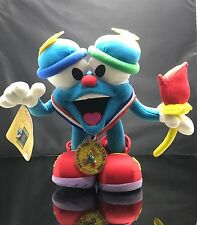 Vintage 1996 Atlanta Olympics Plush IZZY Official Mascot Torch Medal Doll NEW