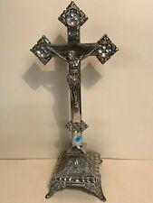 ancien  crucifix en métal    - LOT 13