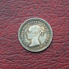 More details for victoria 1842 silver threehalfpence