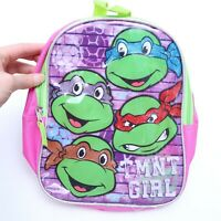 NICKELODEON TEENAGE MUTANT NINJA TURTLE TMNT GIRL BACKPACK
