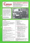 Forest Fire Equipment Brochure - Camiva CCF 110 150 Renault Truck - 1982 (DB316)