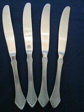 SET 4 DINNER KNIVES! Vintage TOWLE SUPREME cutlery stainless: PRIMAVERA pattern!
