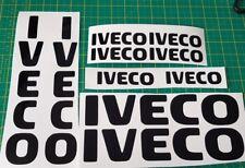 X10 Decalcomania del logo IVECO STRALIS DAILY EUROCARGO ALAGGIO Corriere camion autocarro