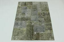 moderne Patchwork délavé look antique PERSAN TAPIS tapis d'Orient 2,47 X1, 76