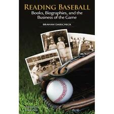 Reading Baseball: Books, Biographies & the Business of  - Paperback NEW Dabschec