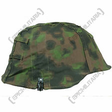Blurred Edge Helmet Cover - WW2 Repro Cap German Army Soldier Uniform Camo New