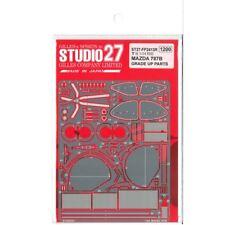 1/24 Studio27  Mazda 787B P/E UP GRADE PARTS