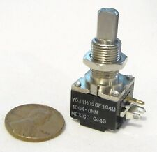 Clarostat Mod Pot 100K OHM Linear Taper Potentiometer 1W 1 Watt 70J1H056F104U CU