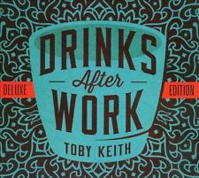 Drinks After Work [Deluxe Edition] [Digipak] * by Toby Keith (CD, 2013, Show Dog