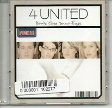 "(AR82) 4 United, Don't Close Your Eyes - 3"" CD"