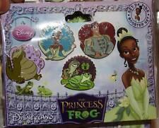 Princess and the Frog set of 4 Tiana Naveen Louis Disney Paris Dlrp Dlp Pin