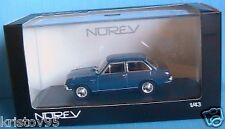 NISSAN SUNNY 1000 LUXE 1966 BLEU MARINE NOREV 1/43 BLUE
