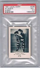 1952 Laval Dairy Subset Hockey Card Ottawa Senators #108 Al Kuntz Graded PSA 5.5