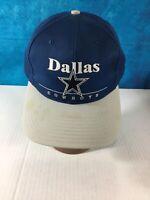 90's NFL Dallas Cowboys Vintage Blue & Gray Snapback Football Cap/Hat