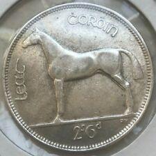 1928 Ireland 1/2 Half Crown - Nice Silver!