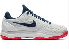 Nike Zoom Cage 3 Tennis Shoes 918199-100 Women's US 9 White Red Blue NEW $130