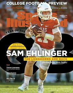 Sam Ehlinger Texas Longhorns 2019 Sports Illustrated cover Photo - select size