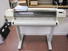 Hewlett Packard Hp Designjet 750c Wide Format Printer Plotter Withmanual Ready