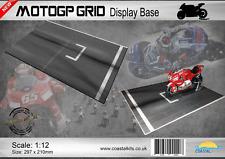 Coastal Kits 1:12 escala MotoGP rejilla base de la pantalla