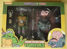 NECA TMNT cartoon animated Target exclusive Donatello and Krang two pack NISB