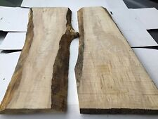 Sycamore Timber,x2,resin River Table Blanks,ripple Sycamore,x2
