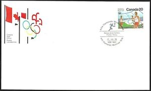 Canada  # 682   OLYMPIC FLAME RELAY CEREMONIES  Brand New 1976 Unaddressed Issue