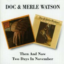 Doc Watson - Then & Now / 2 Days in November [New CD]