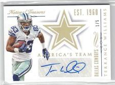 2015 TERRANCE WILLIAMS NATIONAL TREASURES AMERICAS TEAM GOLD AUTO #1/5 EBAY 1/1?