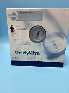 NEW Welch Allyn Dura Shock DS44-11C Sphygmomanometer & Case with Cuff