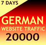 +20000 deutsche Website Aurufe (7 Tage/Days) Organic Traffic - FOR ADULT SITES