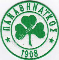 [Patch] PANATHINAIKOS GRECIA football club diam cm 8 toppa ricamo REPLICA -1032