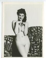 "Eve Eden  By Harrison Marks   6"" x 4"" 1950 Original Nude Pinup Photo  B8039"