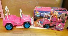 1993 Camp Barbie Sun Cruiser #67026 Jeep Used with box Mattel