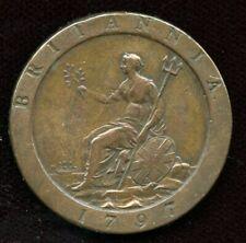1797 Cartwheel One Penny George III GREAT BRITAIN Coin