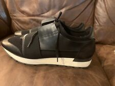 Balenciaga race runner sneakers  Black And White Size 44