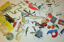 New listing Lot of Vintage Fishing Tackle Lures, Hooks, Weights