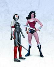 Wonder Woman vs Katana Action Figure 2-Pack The New 52 DC Collectibles SEALED