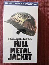 Full Metal Jacket VHS - Sealed - Brand New - Stanley Kubrick