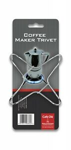 Trivet Stand Stainless Steel Stove Top Coffee Maker Gas Cooker Hob (Pack of 2)