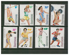 SAMOA 1983 SOUTH PACIFIC GAMES SET OF 8 MINT NEVER HINGED RUGBY GOLF FOOTBALL