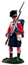 W. Britain Napoleonic 36019, British 42nd Black Watch Highlander At Port Arms #1