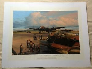 """ROBERT TAYLOR """"BAND OF BROTHERS"""" AIRCREW EDITION SIGNED BY 4. WITH COA. 315/400."""