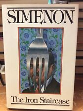 Signed Georges Simenon Mystery First American Edition - The Iron Staircase