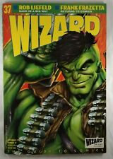Wizard the comic magazine 37 vf-condition